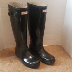 Hunter Original Gloss rain boots 6M/7W